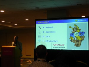 Speaking at OOW2012